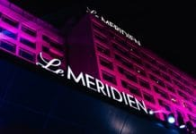 night-view-of-le-meridien-gurgaon