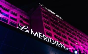 night-view-of-le-meridien-gurgaon